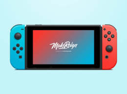 任天堂开关矢量PSD Nintendo Switch Vector PSD