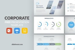 一套商务版免费PPT模板 Corporate Free Presentation Template