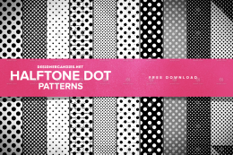 网点图案 Halftone Dot Patterns