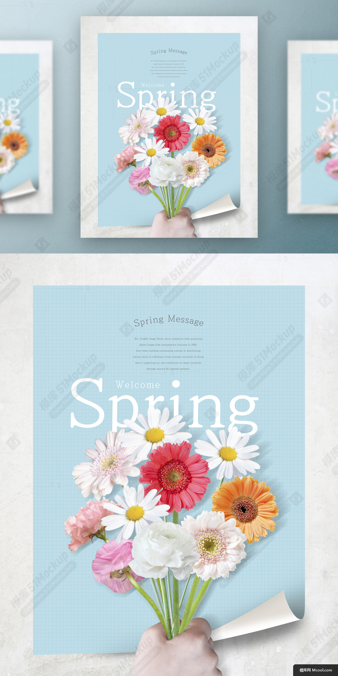 春季春天韩式唯美小清新海报PSD模板Korean spring air beauty poster PSD template Vol.11春季春天韩式唯美小清新海报PSD模板Korean spring air beauty poster PSD template (1.jpg
