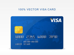 免费矢量Visa信用卡Vector-Visa-Credit-Card