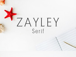 Zayley Serif Regular 字体