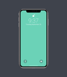 矢量iPhone X样机 Vector iPhone X Mocku