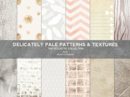 泛白多种图案纹理 Delicately Pale Patterns & Textures
