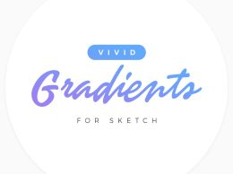 Sketch 渐变配色方案 Vivid Gradients for Sketch