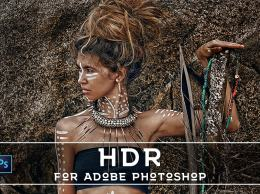 PRO HDR特效Photoshop动作文件 20 Pro HDR PS Actions