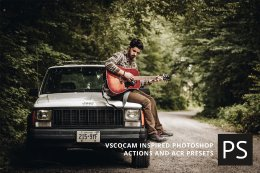 经典的PS照片动作 VSCOcam Photoshop Actions