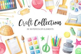Watercolor Craft Collection Vol.026