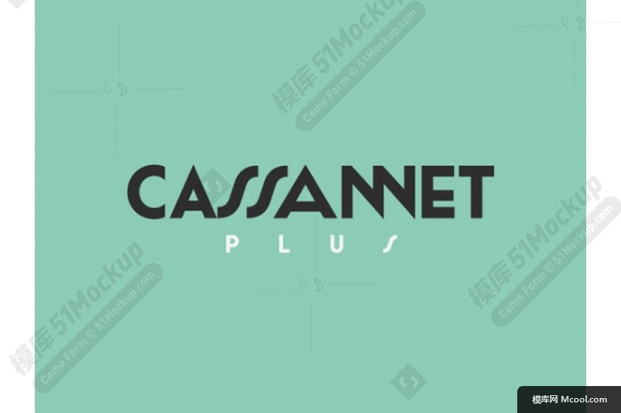 Cassannet Plus Regular:复古排版的字体