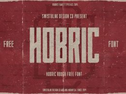 Hobric Rough字体