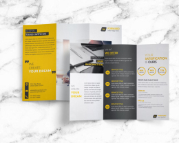 Free Creative Corporate Trifold BrochureFREE