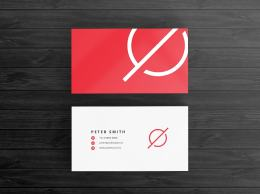 抽象图案元素名片模板Abstract Business Card Template