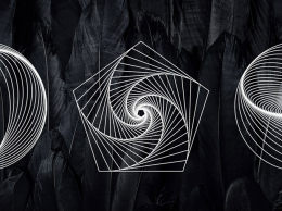 矢量线条艺术图案18 Geometric Line Art Vectors