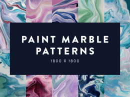 油漆大理石图案Paint Marble Patterns