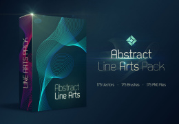超抽象的175组线条175 Abstract Line Arts Pack