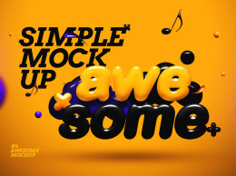 3D文字效果Awesome 3D Text Mockup5