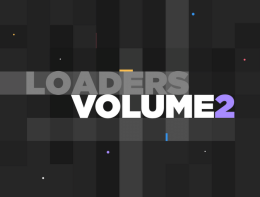 20种After Effects和MP4格式的新动画加载器 Loaders Volume 2
