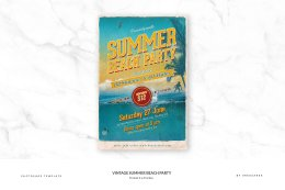 夏日海滩派对 Vintage Summer Beach Party